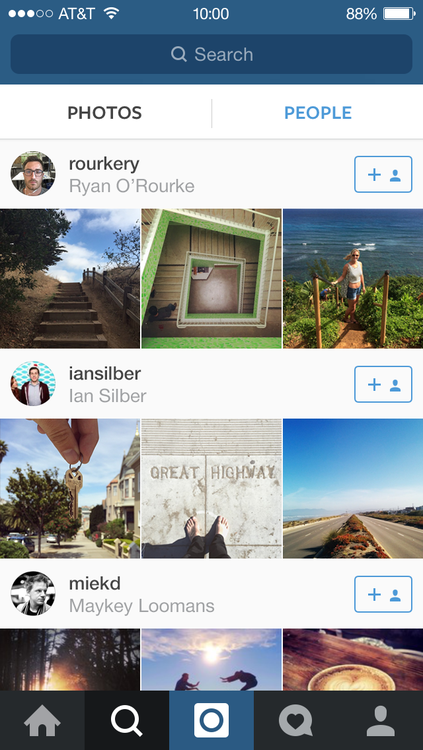 instagram guncellenmesi