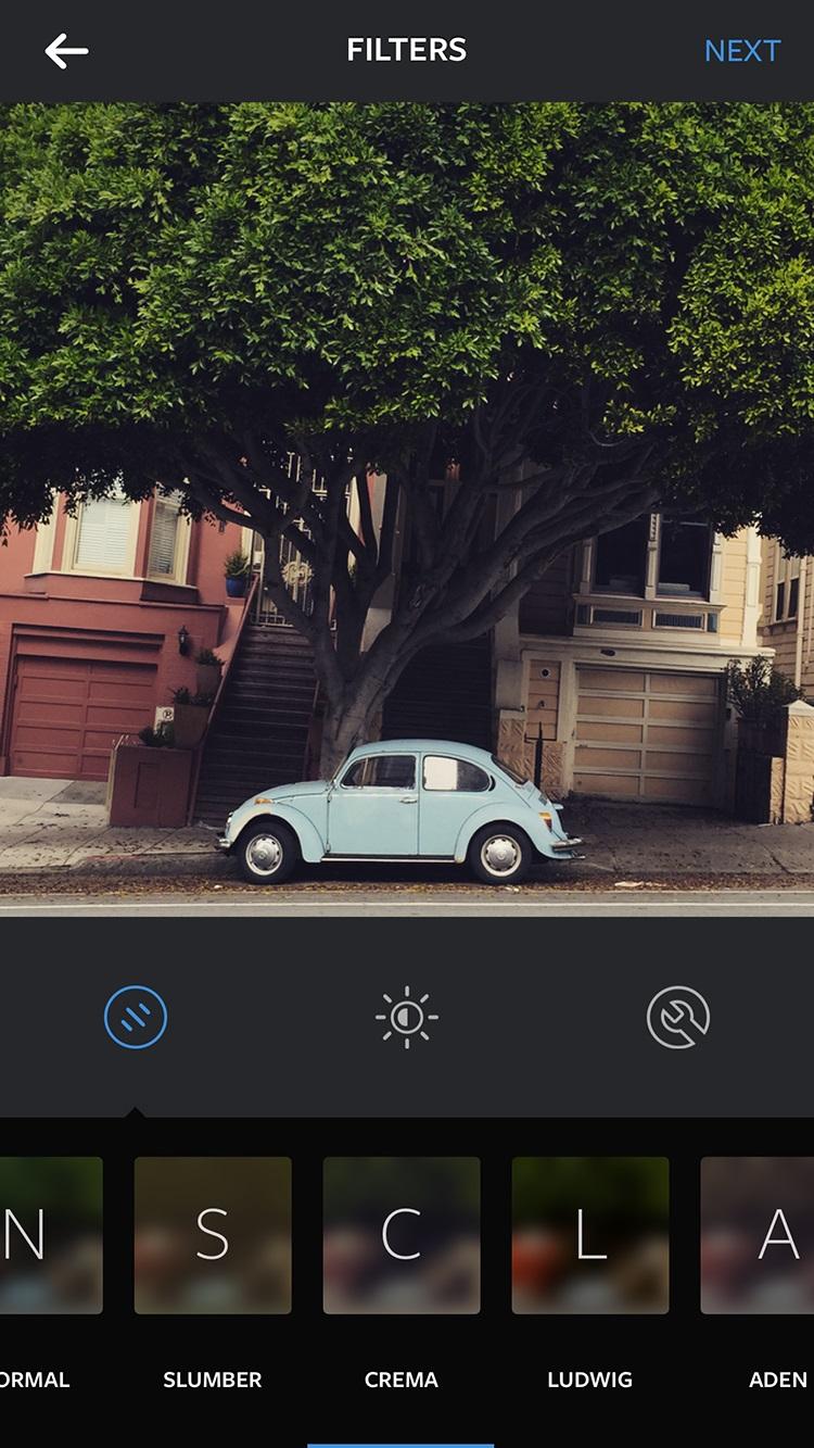 InstagramCremaFilter